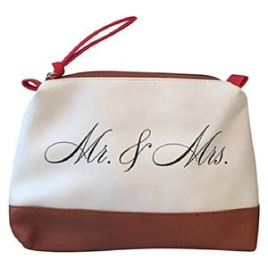 NEW! Kenneth Cole Reaction Mr. and Mrs. Makeup Bag